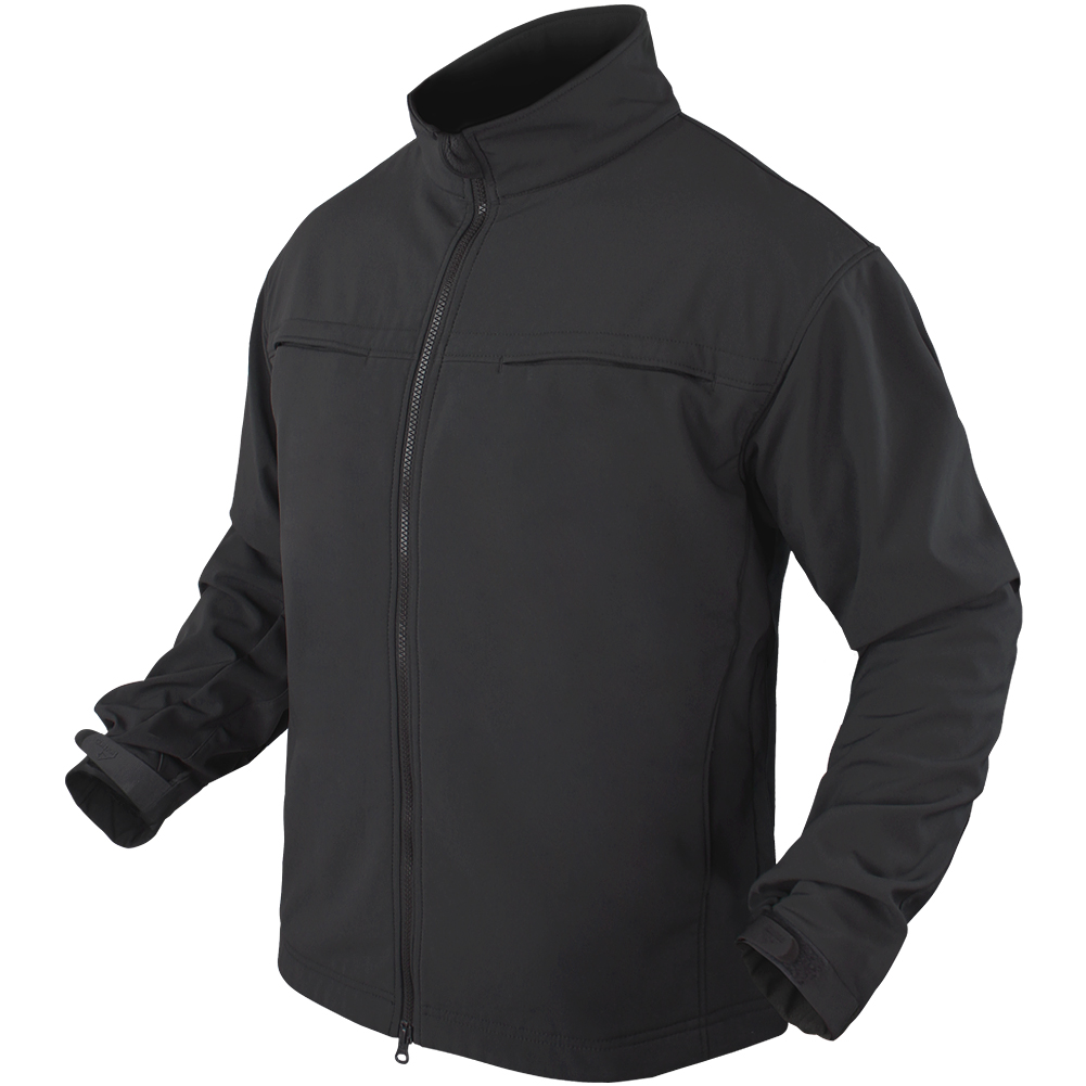 Condor Covert Soft Shell Jacket Black Soft Shell