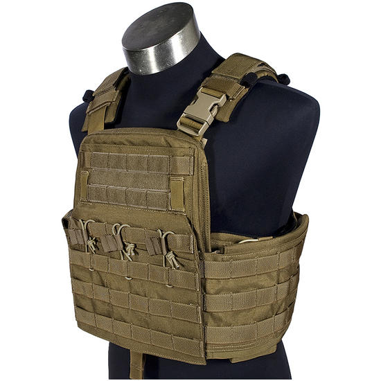 Flyye Field Compact Plate Carrier Coyote Brown