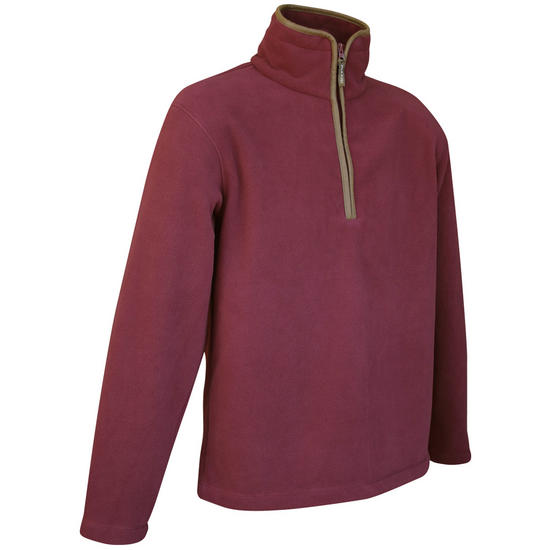 Jack Pyke Countryman Fleece Pullover Burgundy