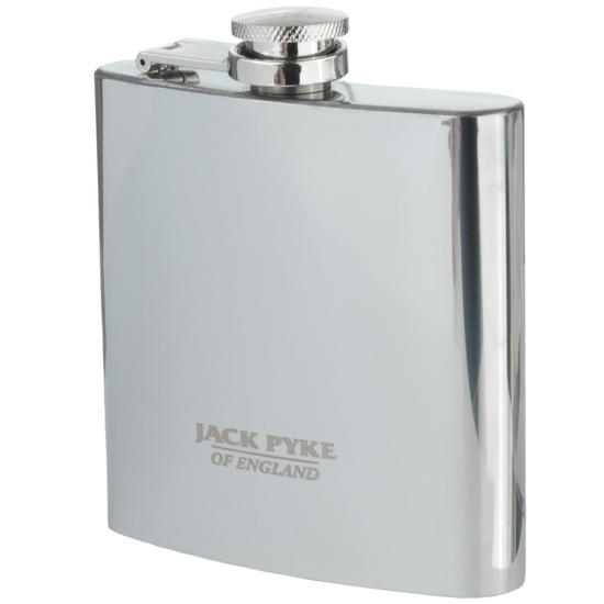 Jack Pyke Stainless Hip Flask 6oz
