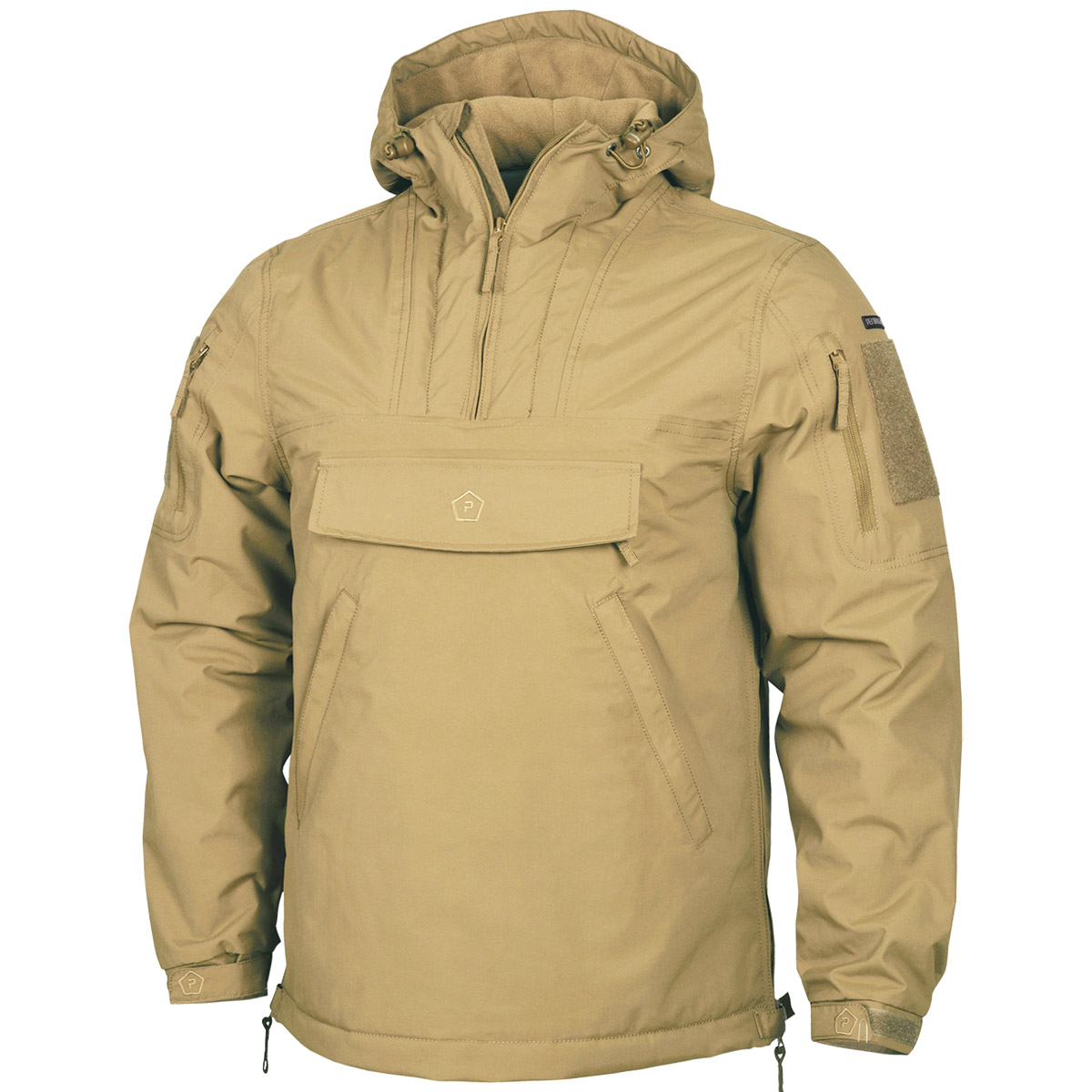 Anorak definition, a hooded pullover jacket originally made of fur and worn in the arctic, now made of any weather-resistant fabric. See more.