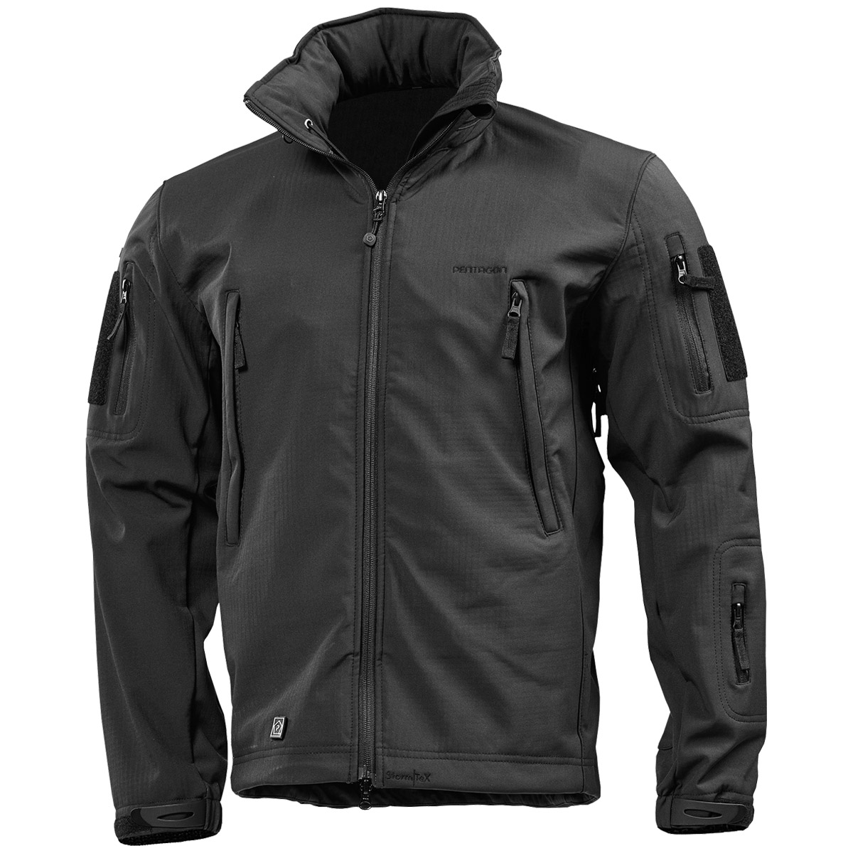 Pentagon Artaxes Army Tactical Softshell Mens Urban Jacket Water Resistant Black | eBay