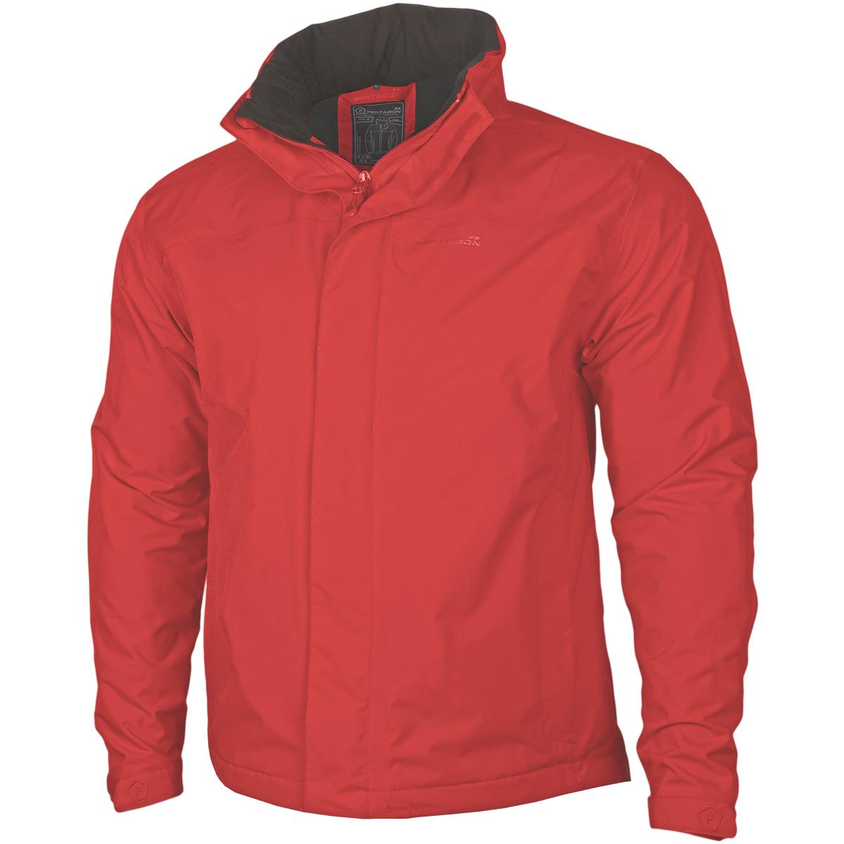 Pentagon Atlantic Plus Rain Jacket Warm Mens Skiing Fleece Nylon ...