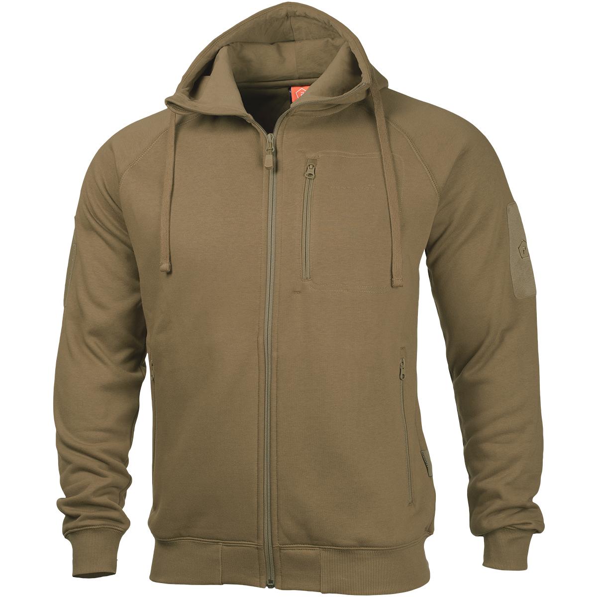 pentagon leonidas 2 0 sweater warm mens travel hoodie army patrol jacket coyote ebay On travel hoodie