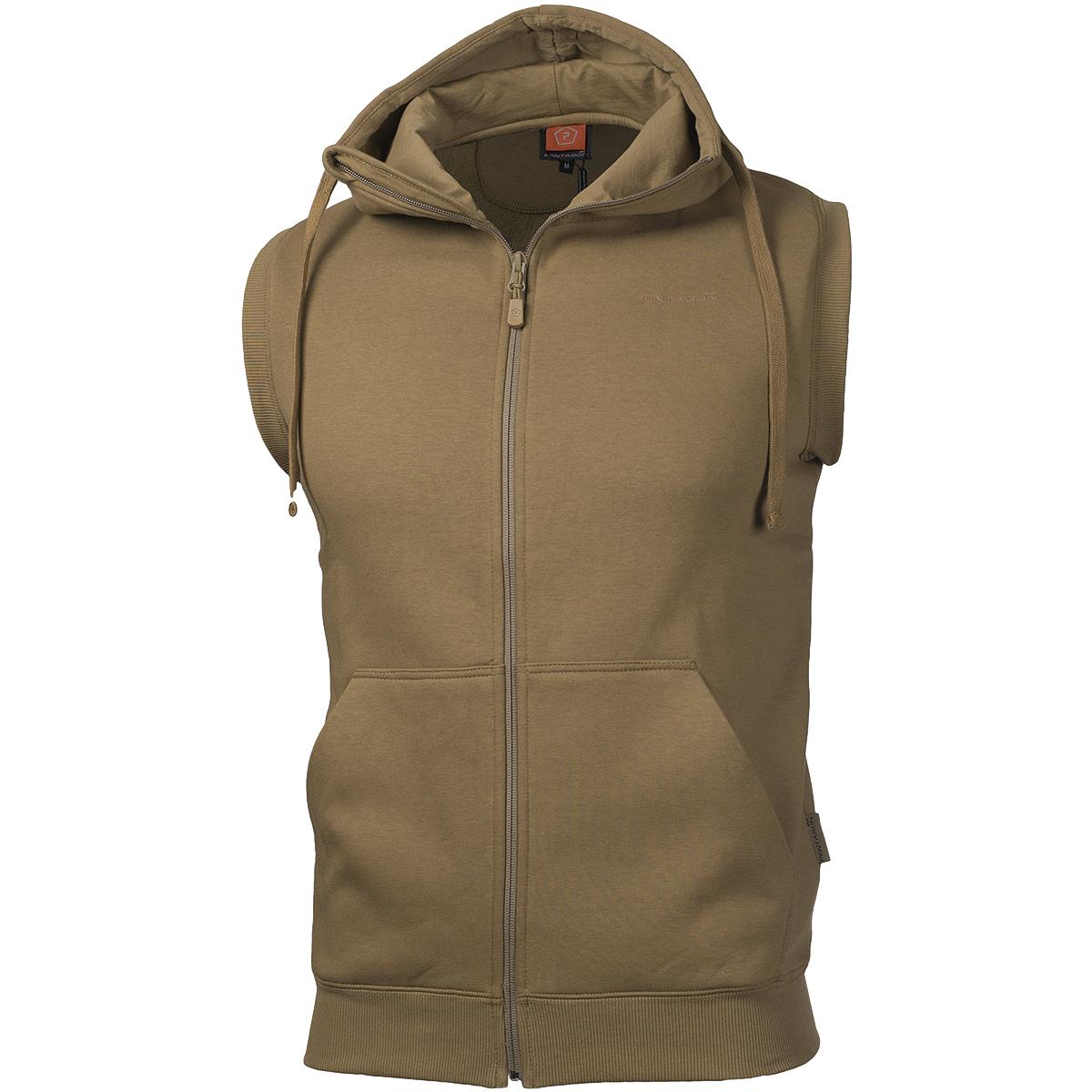 Sweater vest hoodie