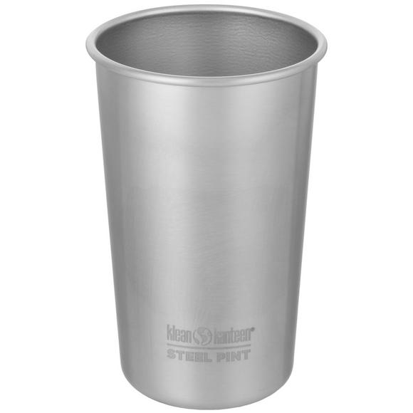 Klean Kanteen 473ml Pint Cup Brushed Stainless Steel