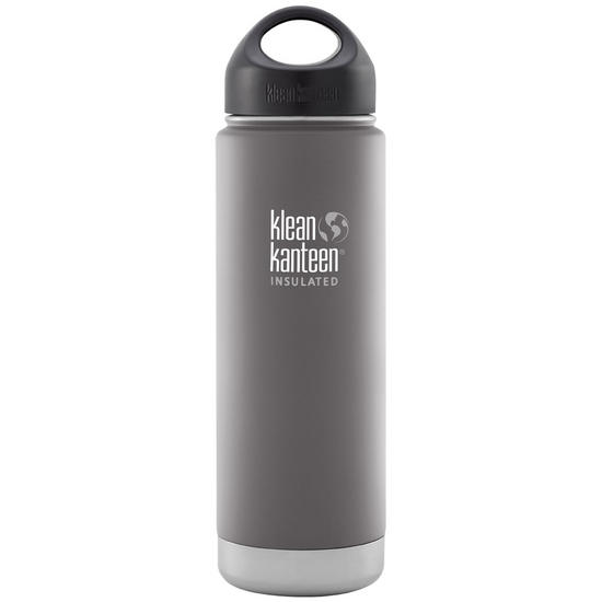 Klean Kanteen Wide Mouth Insulated 592ml Bottle Loop Cap Granite Peak