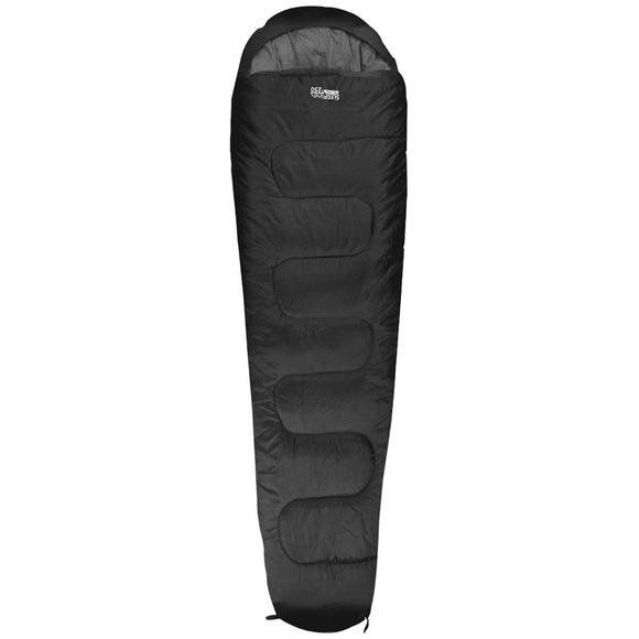 Highlander Sleepline 250 Mummy Sleeping Bag Black