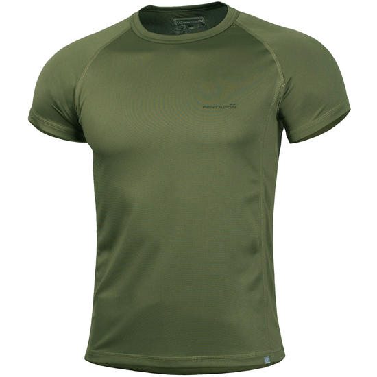Pentagon Body Shock T-Shirt Olive Green