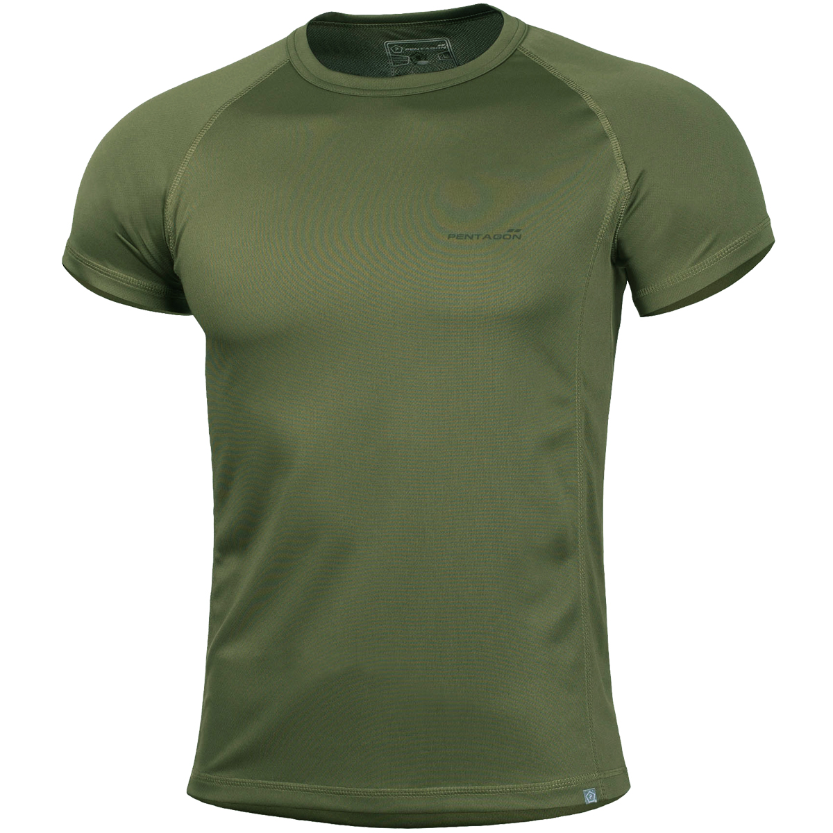 Pentagon body shock t shirt olive green t shirts vests for I will t shirt