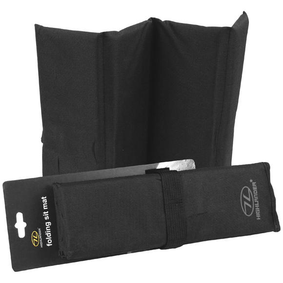Highlander Folding Sit Mat Black