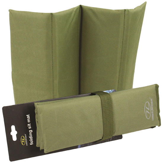 Highlander Folding Sit Mat Green