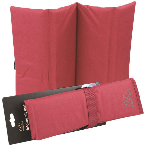 Highlander Folding Sit Mat Red