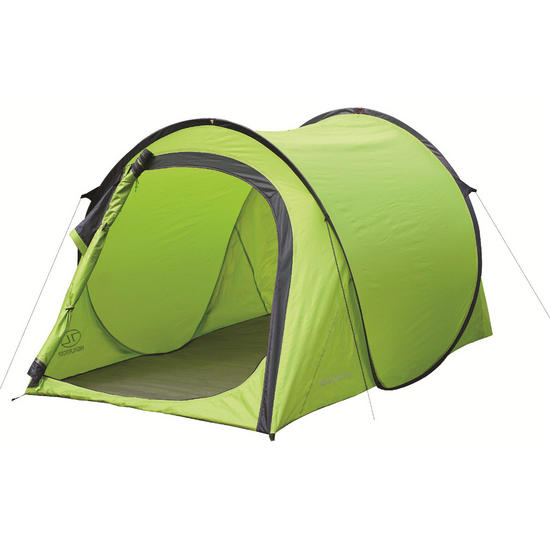 Highlander Rapid Pitch 2 Tent Lime Green