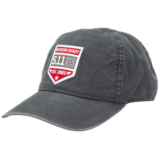 5.11 Mission Ready Cap Charcoal