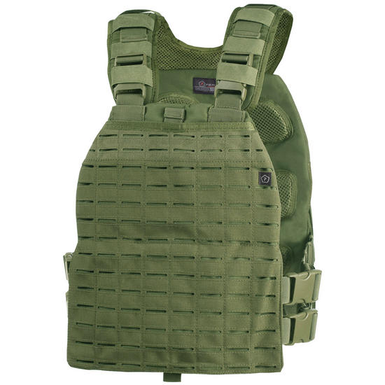Pentagon Zeus Plate Carrier Olive Green