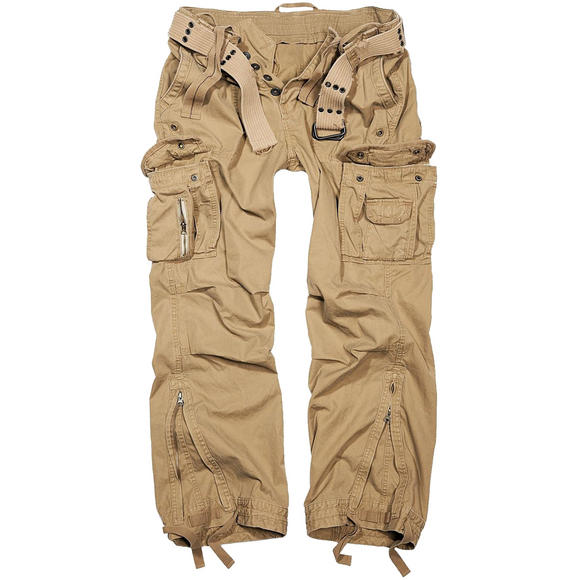 Brandit Royal Vintage Trousers Beige