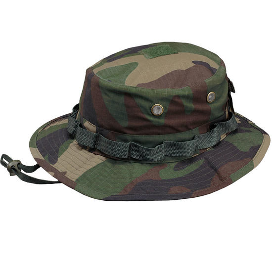 Pentagon Jungle Hat Rip-Stop Woodland