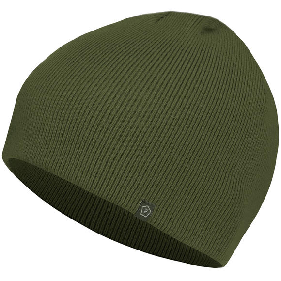 Pentagon Knitted Wool Watch Cap Olive Green