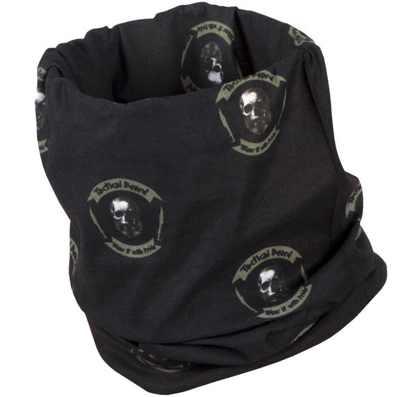 Pentagon Tactical Beard Neck Gaiter Black