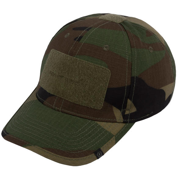 Pentagon Tactical 2.0 BB Cap Rip-Stop Woodland