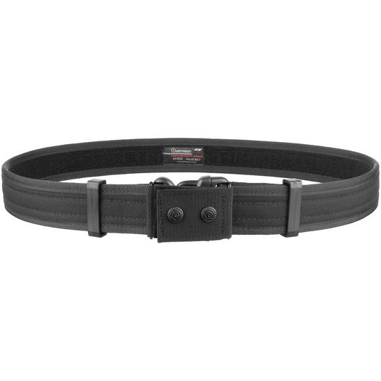 Pentagon Police Belt Black