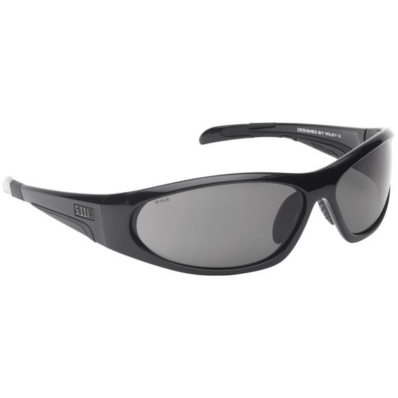 5.11 Ascend Sunglasses - Smoke Lens / Black Frame