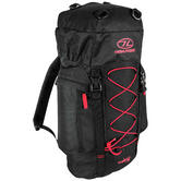 Highlander Rambler 33 Rucksack Black/Red