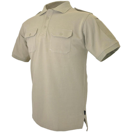 Hazard 4 LEO Uniform Replacement Battle Polo Shirt Tan