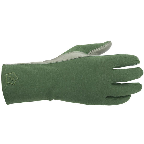 Pentagon Long Cuff Pilot Gloves Olive