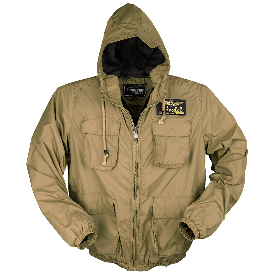 mil tec air force jacket coyote other military 1st. Black Bedroom Furniture Sets. Home Design Ideas