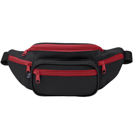 Brandit Waist Bag Black / Red