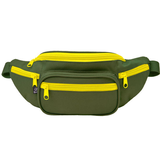Brandit Waist Bag Olive / Yellow