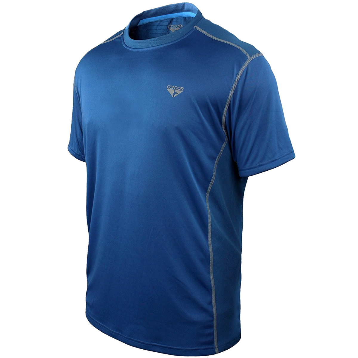 Condor surge performance t shirt cobalt t shirts vests for What is a performance t shirt