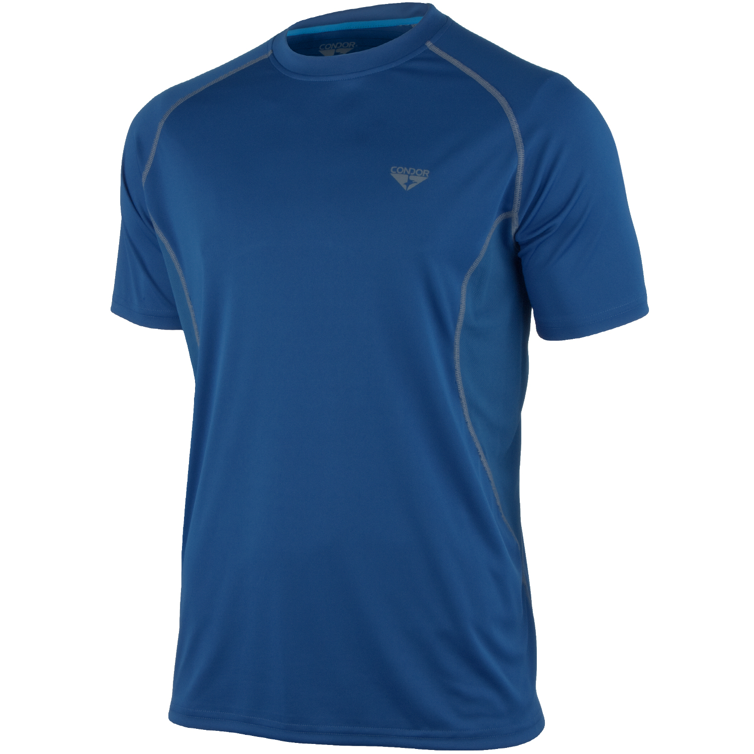 Condor blitz performance t shirt cobalt t shirts vests for What is a performance t shirt