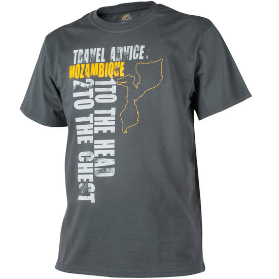 Helikon Travel Advice: Mozambique T-shirt Shadow Grey