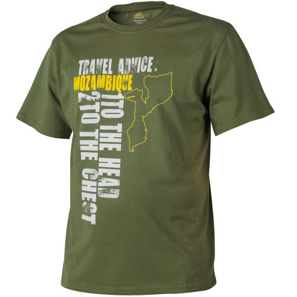 Helikon Travel Advice: Mozambique T-shirt US Green