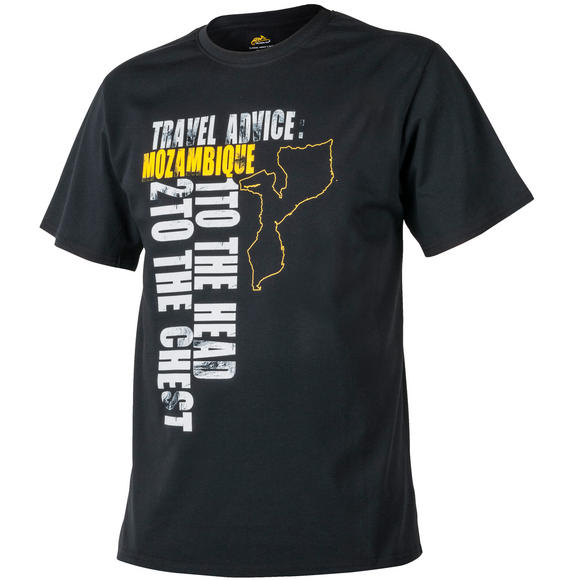 Helikon Travel Advice: Mozambique T-shirt Black