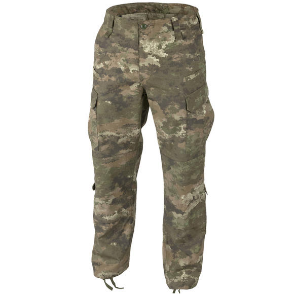 Helikon CPU Trousers Polycotton Mens Camo Combat Tactical Pants Legion Forest