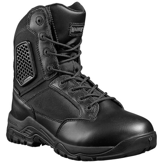 Magnum Strike Force 8.0 Side Zip Waterproof Boots Black