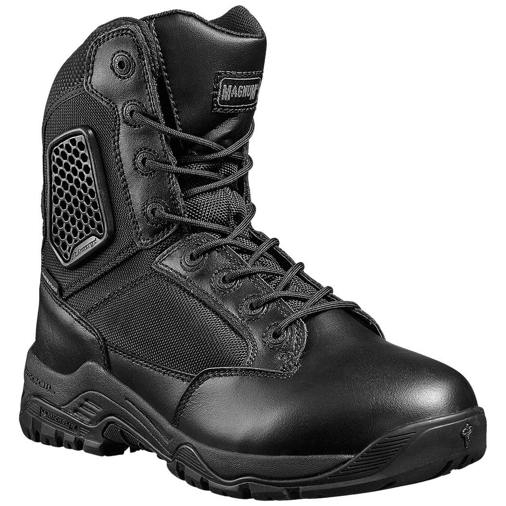 Magnum Strike Force 8.0 Tactical Side Zip Mens Boots Michelin ...