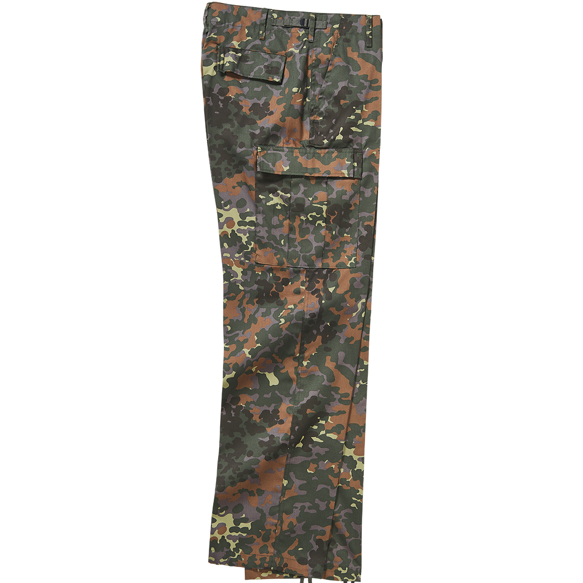 Combate-Militar-Brandit-U-S-Ranger-Hombres-Paintball-Pantalones-Flecktarn-Camo