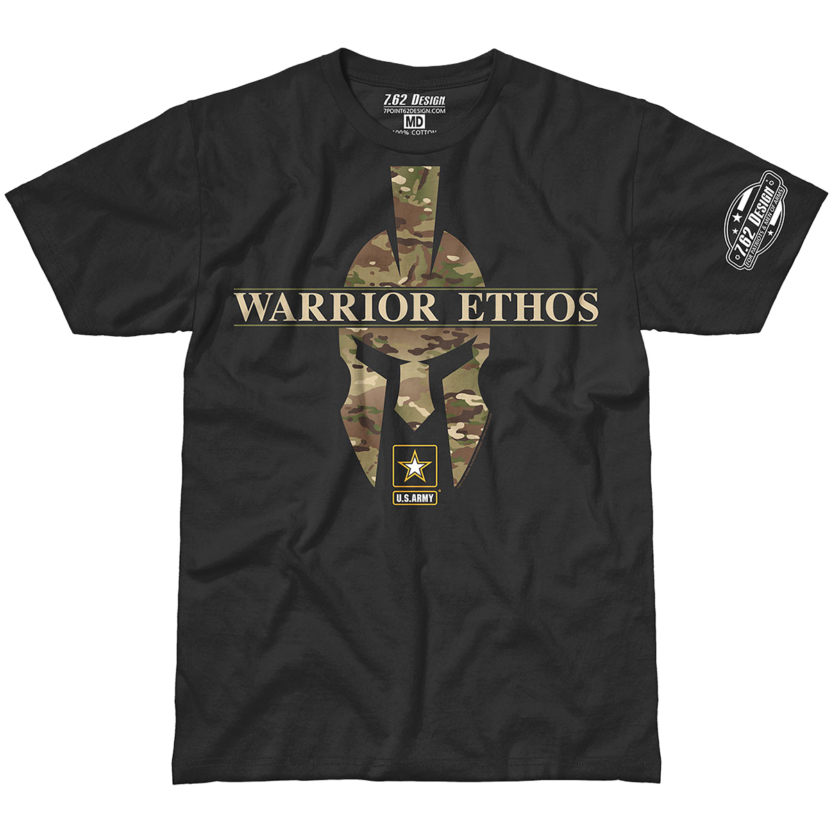 Design army warrior ethos mens t shirt military for Army design shirts online