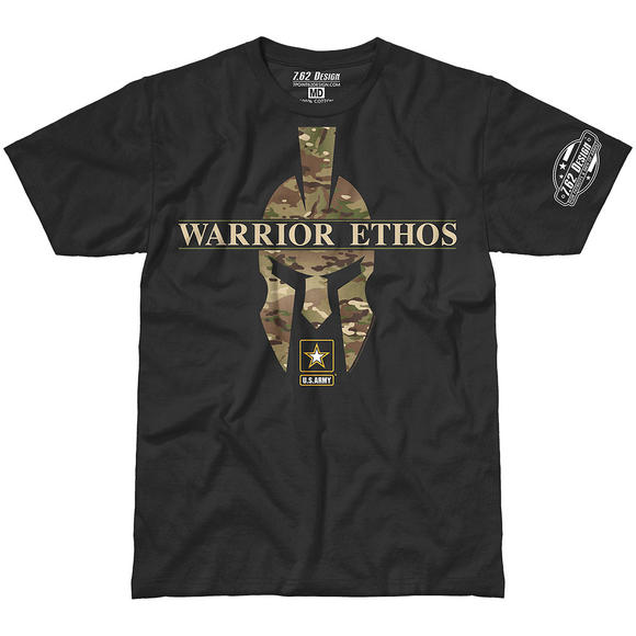 7.62 Design Army Warrior Ethos Battlespace T-Shirt Black