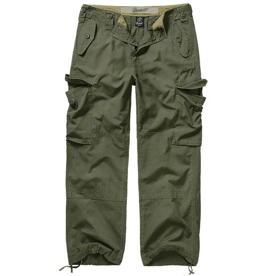 Brandit Hudson Ripstop Trousers Olive