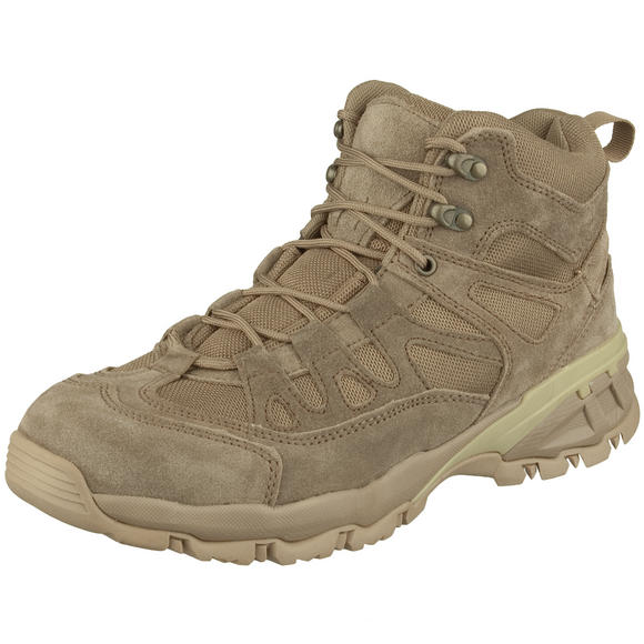 Brandit Outdoor Trail Mid Cut Boots Camel