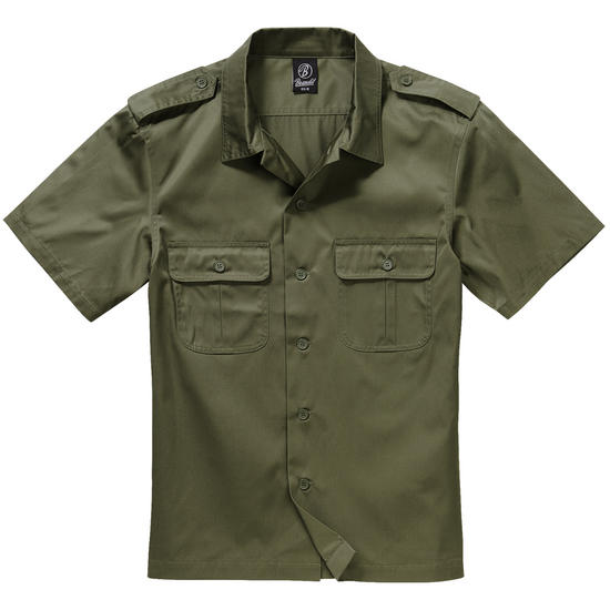 Brandit US Shirt Short Sleeve Olive