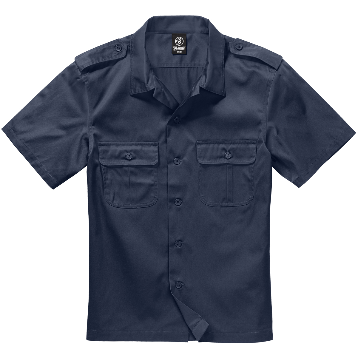 Brandit Us Shirt Short Sleeve Navy Tactical Military 1st