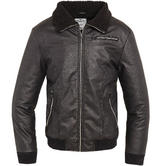 Brandit B52 PU Jacket Black
