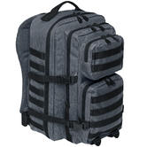 Brandit US Cooper Rucksack Large Multicolour Anthracite / Black